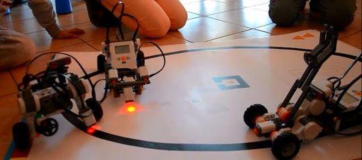 Spot filmowy z warsztatów robotyki i wulkanologii