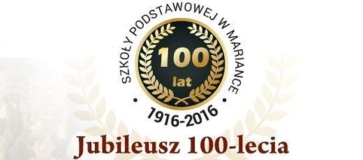 100 lat szkoły podstawowej w Mariance