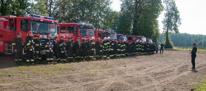 III Ćwiczenia zgrywające jednostek Ochotniczych Straży Pożarnych z terenu gminy Niedrzwica Duża