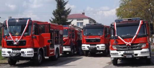 """Projekt """"Zabezpieczenie przeciwpożarowe i przeciwpowodziowe województwa lubelskiego poprzez zakup samochodów ratowniczo-gaśniczych dla Ochotniczych Straży Pożarnych"""""""