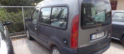 Informacja o sprzedaży zbędnego składnika majątku ruchomego -- samochód Renault Kangoo