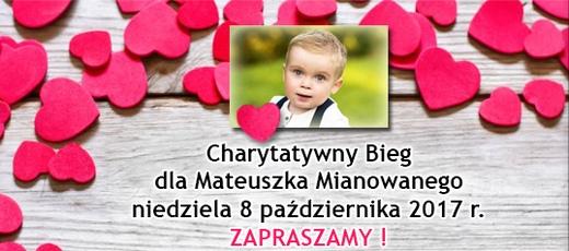 Charytatywny Bieg Caritas dla Mateusza Mianowanego - 8.10.2017