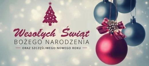 Życzenia z okazji Świąt Bożego Narodzenia - 2017