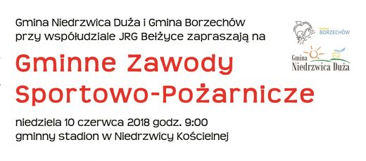 Gminne Zawody Sportowo-Pożarnicze - 10 czerwca 2018