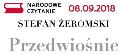 Narodowe czytanie - Przedwiośnie - 03.09.2016