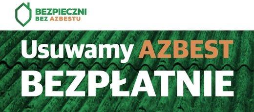 Naboru wniosków o dofinansowanie usuwania wyrobów zawierających azbest - 2019
