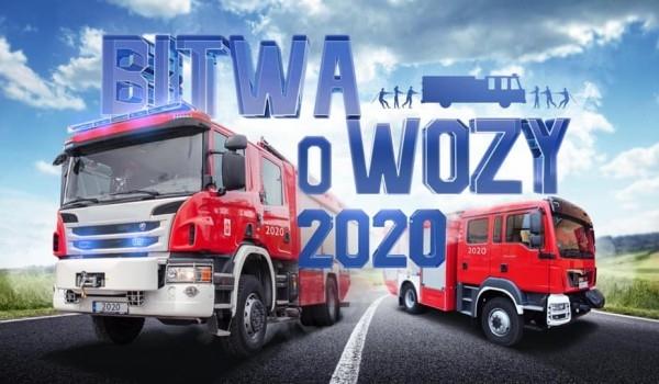 Wóz strażacki dla gmin z największą frekwencją wyborczą