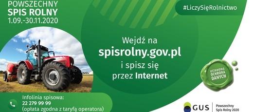 Powszechny Spis Rolny - informacja o numerach telefonów.