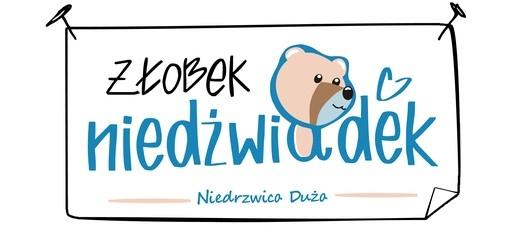 """Ogłoszenie o naborze na wolne stanowisko pracy opiekun/opiekunka dziecięca w żłobku """"Niedźwiadek"""" w Niedrzwicy Dużej"""