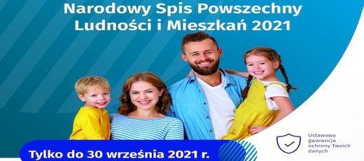 NSP 2021: Informacja o wydłużeniu pracy godzin Gminnego Punktu Spisowego dnia 30 września 2021 roku
